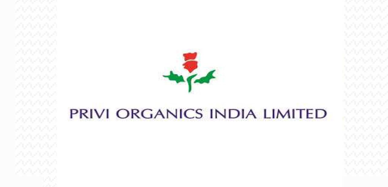 PRIVI ORGANICS INDIA LIMITED